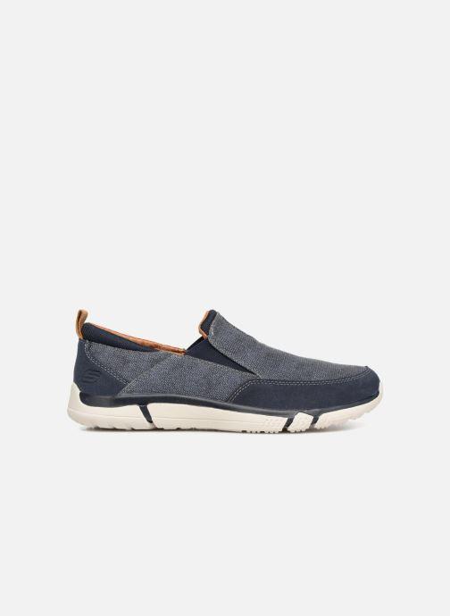 Sneakers Skechers Edmen Bronte Blå bild från baksidan