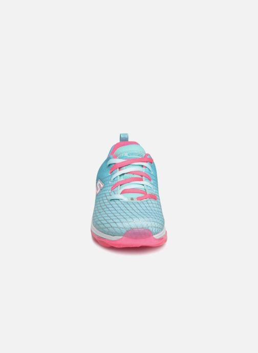 Baskets Skechers Skech-Air Deluxe Bleu vue portées chaussures