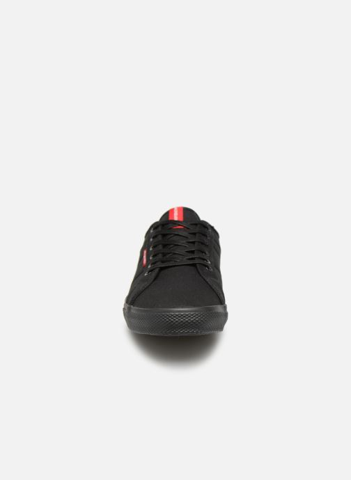 Baskets Jack & Jones Jfwross Canvas Noir vue portées chaussures