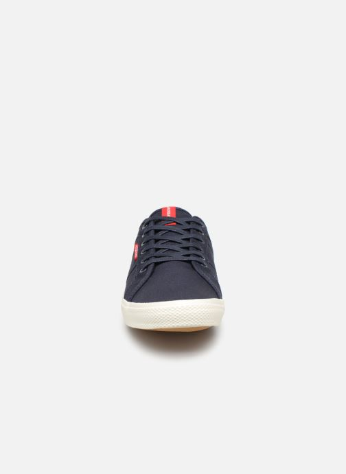 Baskets Jack & Jones Jfwross Canvas Bleu vue portées chaussures