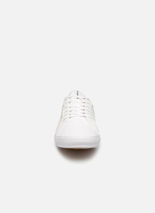 Sneaker Jack & Jones Jfwross Canvas Print weiß schuhe getragen