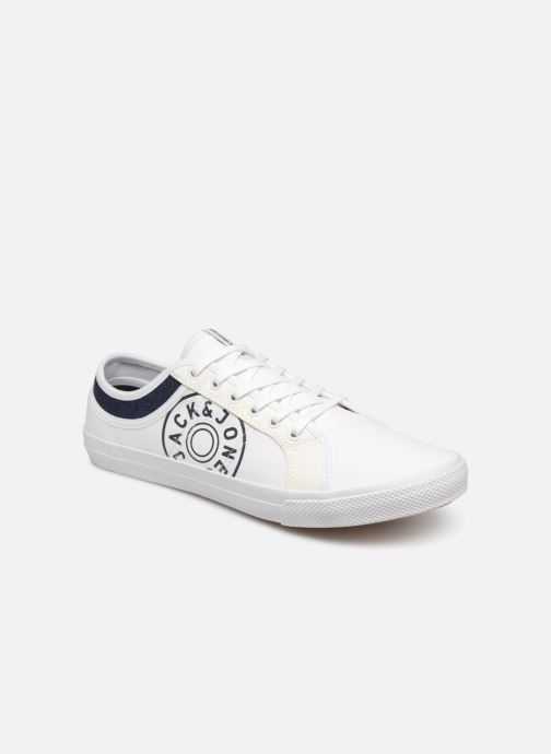 Baskets Jack & Jones Jfwross Canvas Print Blanc vue détail/paire