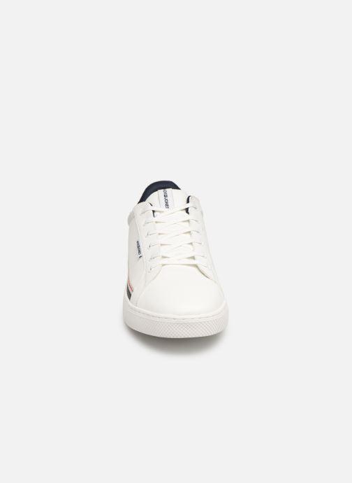 Baskets Jack & Jones Jfwtrent Pu Special Blanc vue portées chaussures