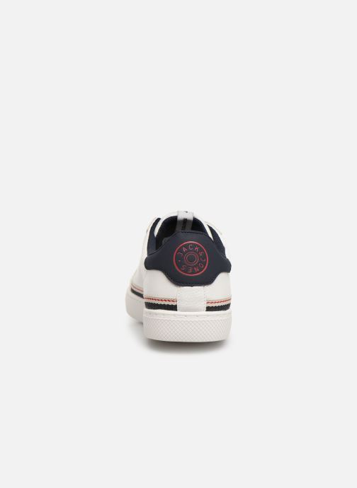 Baskets Jack & Jones Jfwtrent Pu Special Blanc vue droite