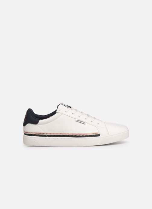 Baskets Jack & Jones Jfwtrent Pu Special Blanc vue derrière