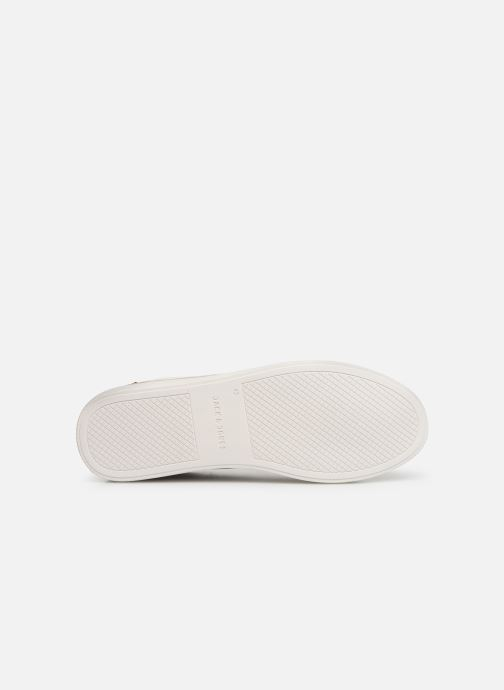 Baskets Jack & Jones Jfwtrent Pu Special Blanc vue haut