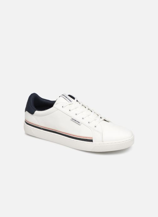 Baskets Jack & Jones Jfwtrent Pu Special Blanc vue détail/paire