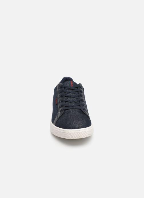 Baskets Jack & Jones Jfwtrent Denim Combo Bleu vue portées chaussures