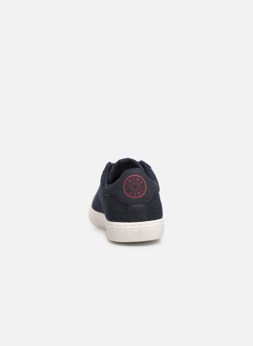 Sneaker Jack & Jones Jfwtrent Denim Combo blau ansicht von rechts