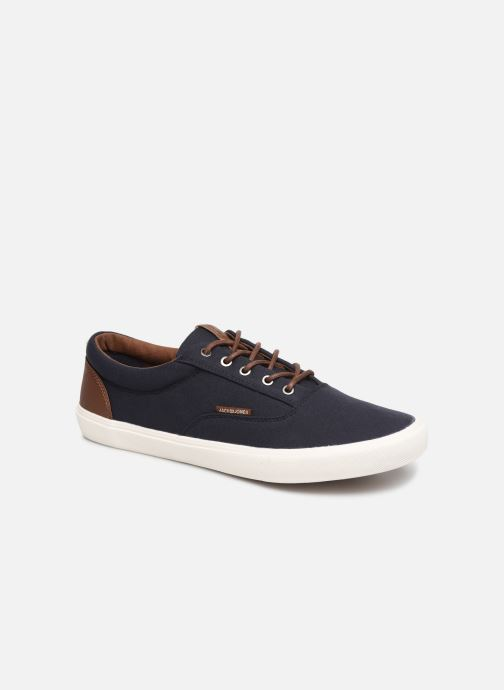 Baskets Jack & Jones Jfwvision Mix Bleu vue détail/paire