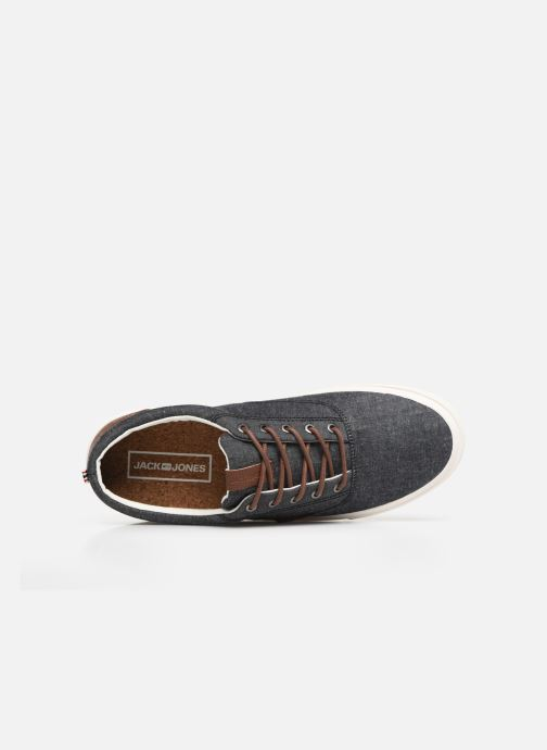 Sneaker Jack & Jones Jfwvision Mix grau ansicht von links