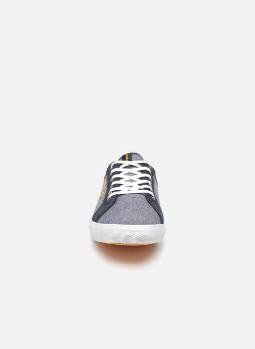 Baskets Jack & Jones Jfwross Chambray Print Bleu vue portées chaussures