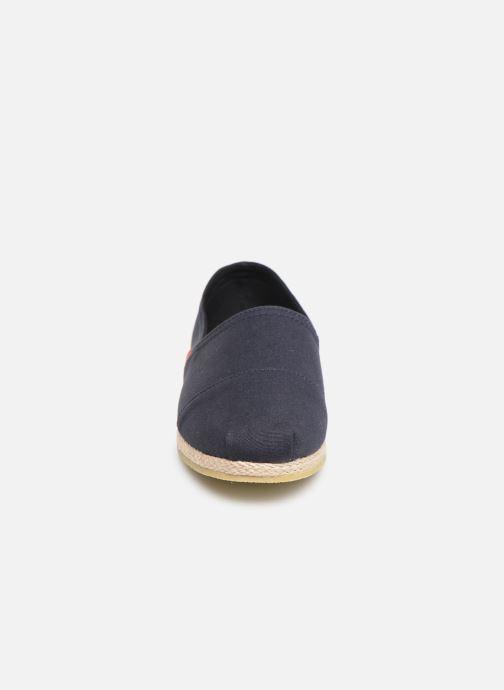 Espadrilles Jack & Jones Jfw Espadrilles Canvas Bleu vue portées chaussures
