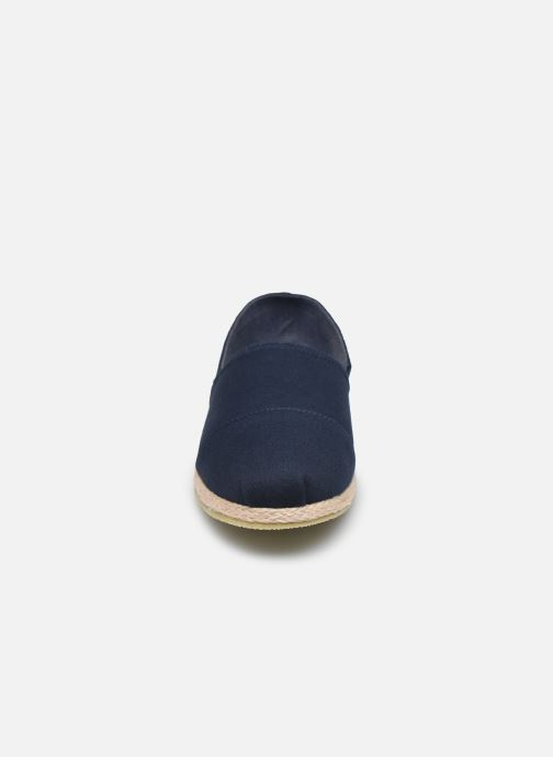 Scarpe di corda Jack & Jones Jfw Espadrilles Canvas Azzurro modello indossato