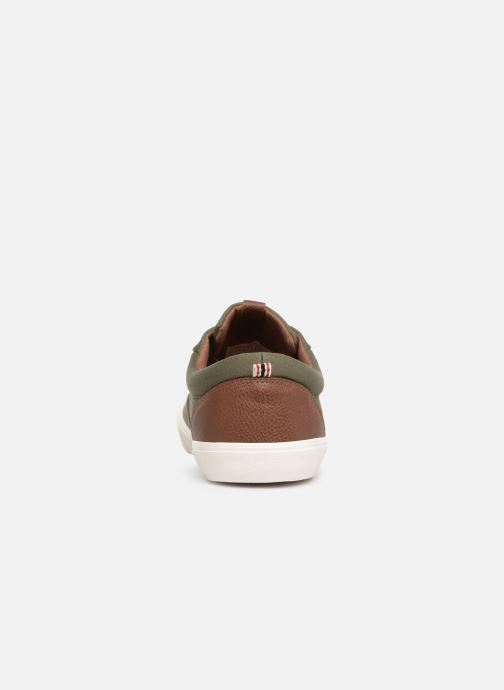 Trainers Jack & Jones Jfwvision Classic Mixed Green view from the right
