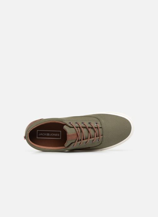 Trainers Jack & Jones Jfwvision Classic Mixed Green view from the left