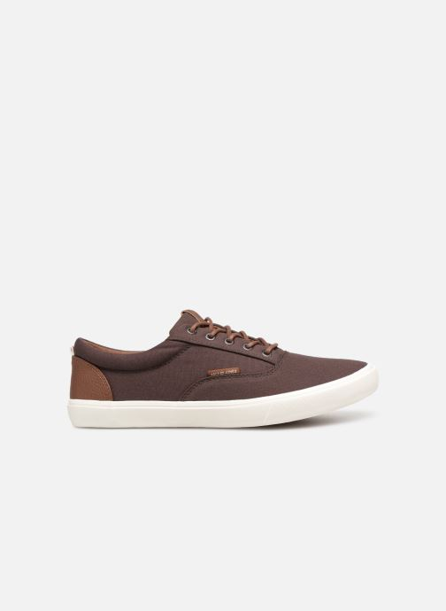 Sneakers Jack & Jones Jfwvision Classic Mixed Bruin achterkant