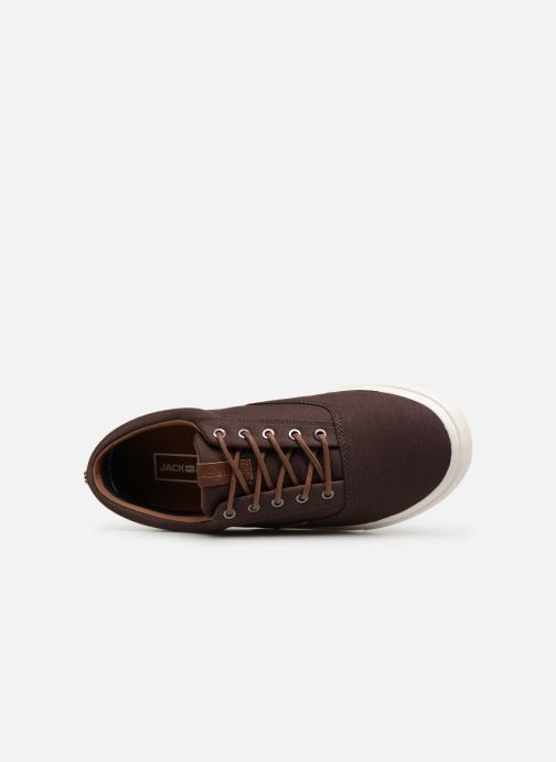 Trainers Jack & Jones Jfwvision Classic Mixed Brown view from the left