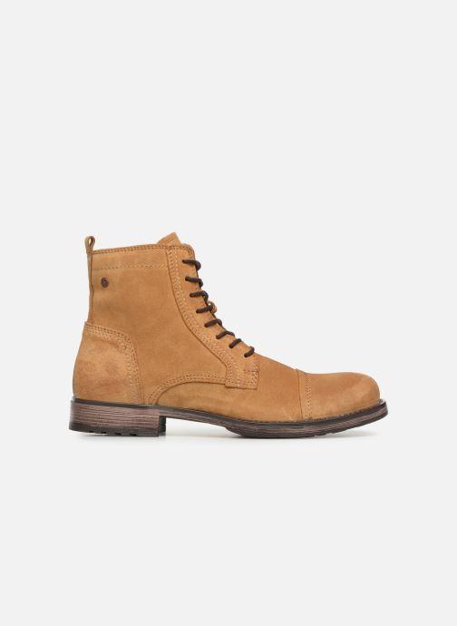 Bottines et boots Jack & Jones JFWRUSSEL Suede Beige vue derrière