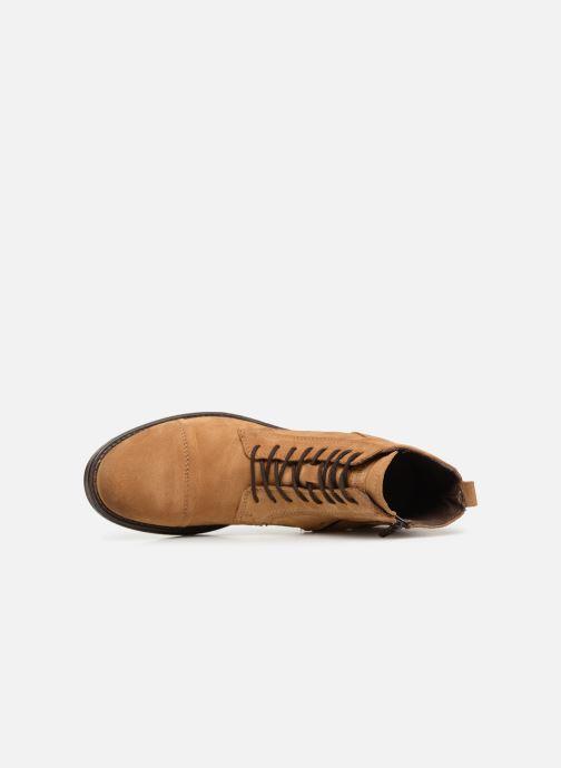 Bottines et boots Jack & Jones JFWRUSSEL Suede Beige vue gauche