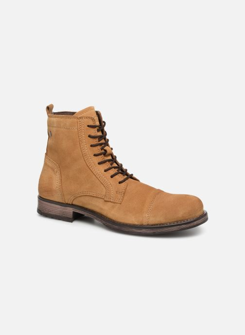 Bottines et boots Jack & Jones JFWRUSSEL Suede Beige vue détail/paire