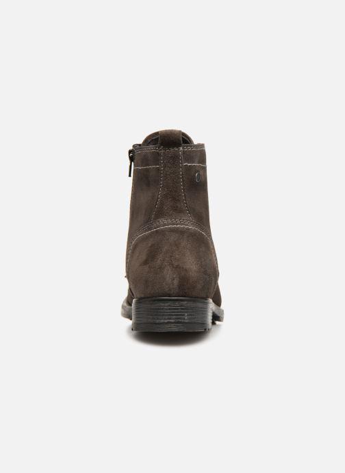 Bottines et boots Jack & Jones JFWRUSSEL Suede Noir vue droite