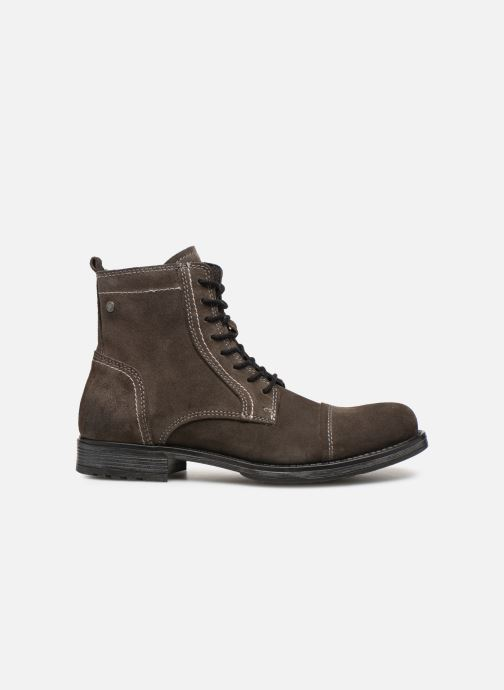 Bottines et boots Jack & Jones JFWRUSSEL Suede Noir vue derrière