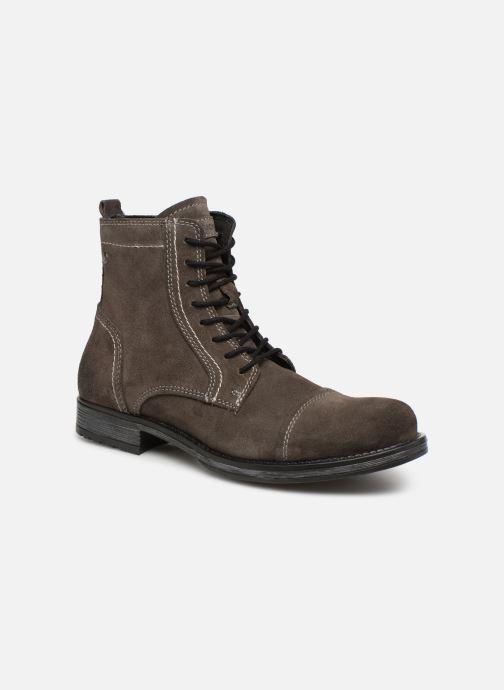 Bottines et boots Jack & Jones JFWRUSSEL Suede Noir vue détail/paire