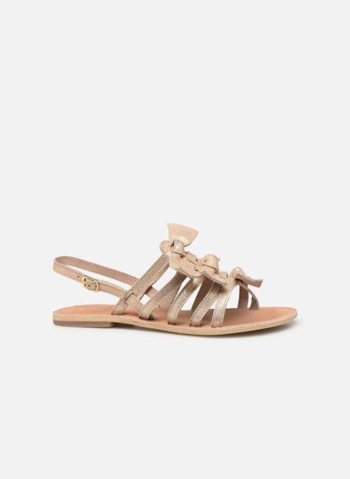 Sandales et nu-pieds Georgia Rose Kindra Or et bronze vue derrière