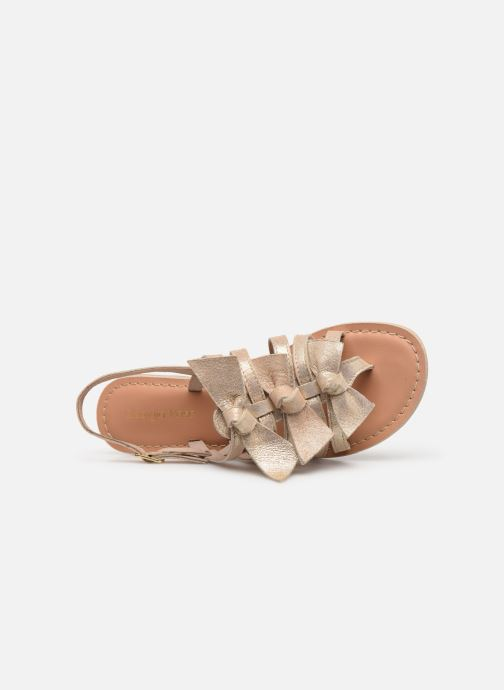Sandales et nu-pieds Georgia Rose Kindra Or et bronze vue gauche
