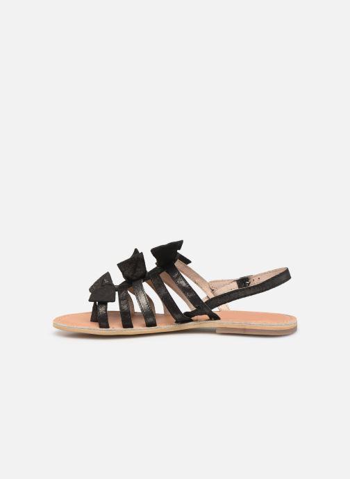 Sandales et nu-pieds Georgia Rose Kindra Noir vue face