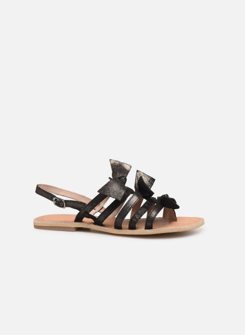 Sandales et nu-pieds Georgia Rose Kindra Noir vue derrière