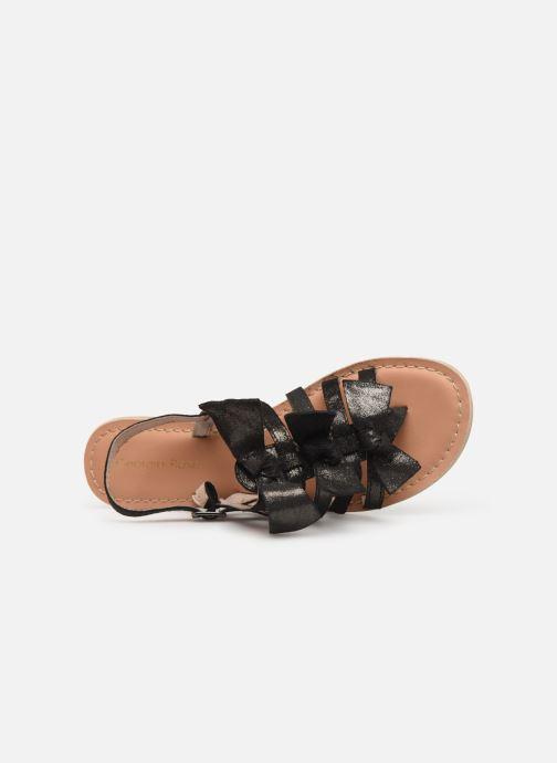 Sandales et nu-pieds Georgia Rose Kindra Noir vue gauche