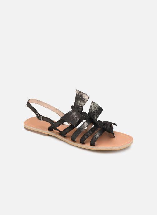 Sandales et nu-pieds Georgia Rose Kindra Noir vue détail/paire