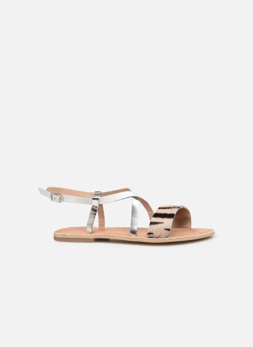 Sandales et nu-pieds Georgia Rose Kacia Argent vue derrière