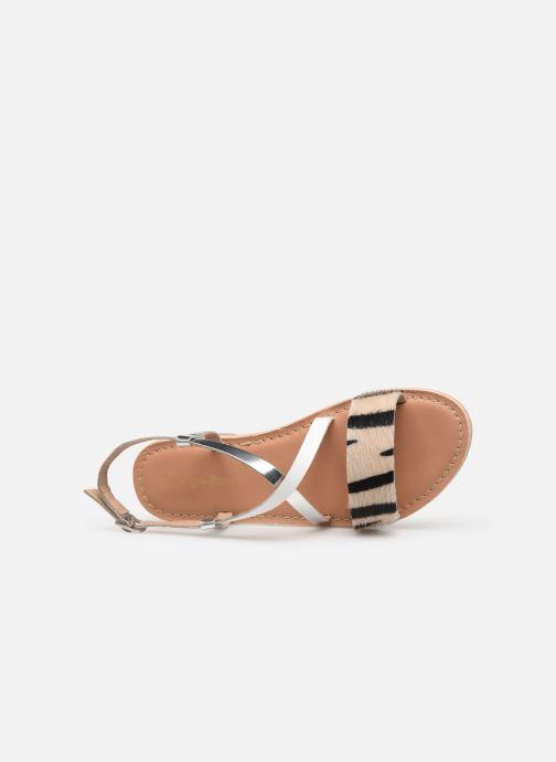 Sandales et nu-pieds Georgia Rose Kacia Argent vue gauche