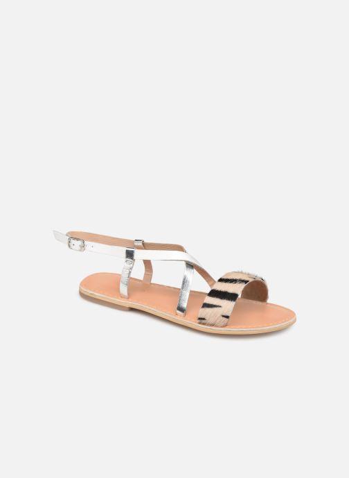 Sandales et nu-pieds Georgia Rose Kacia Argent vue détail/paire