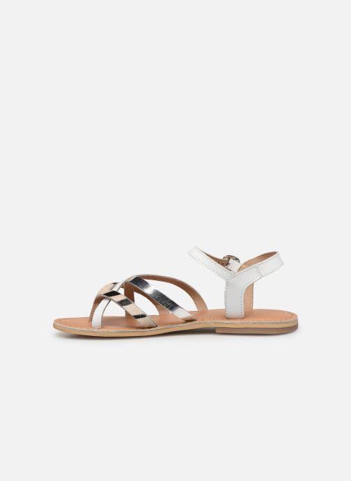 Sandales et nu-pieds Georgia Rose Kaorou Blanc vue face