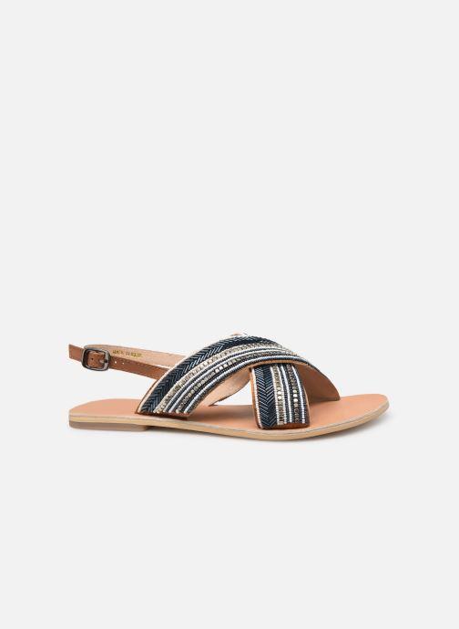 Sandales et nu-pieds Georgia Rose Kaperla Bleu vue derrière