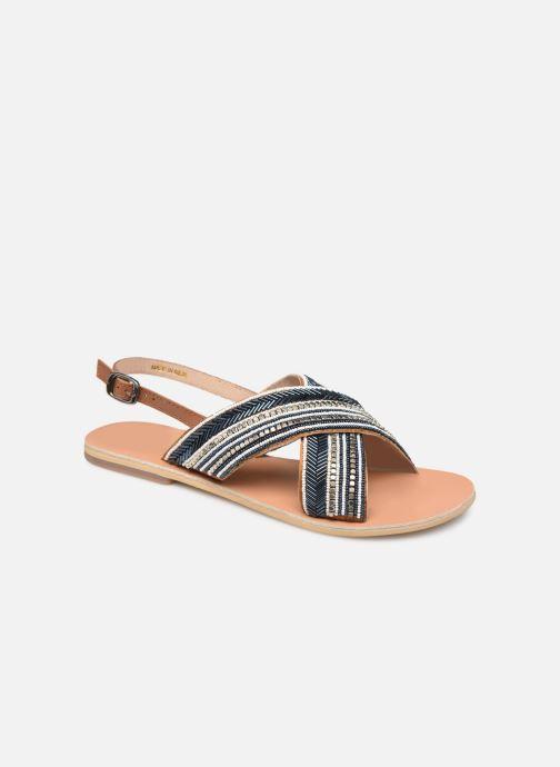 Sandales et nu-pieds Georgia Rose Kaperla Bleu vue détail/paire