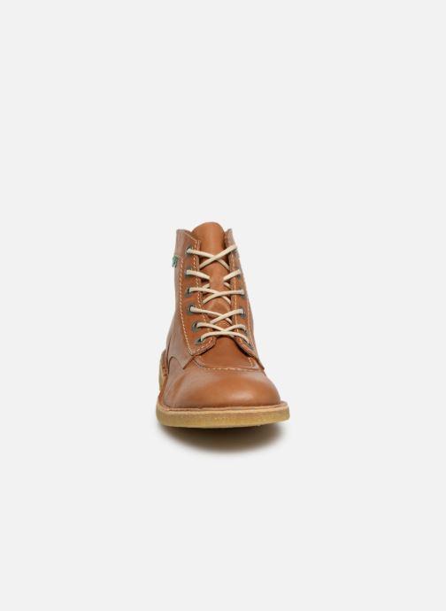Bottines et boots Kickers KICK LEGEND M Marron vue portées chaussures