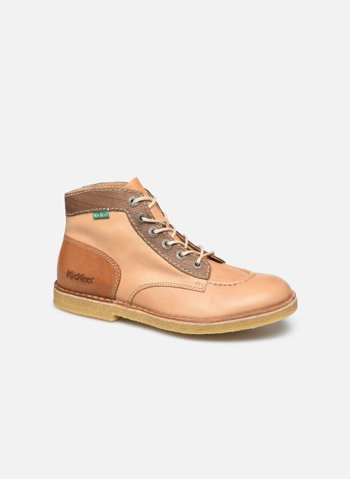 Bottines et boots Kickers KICK LEGEND M Beige vue détail/paire