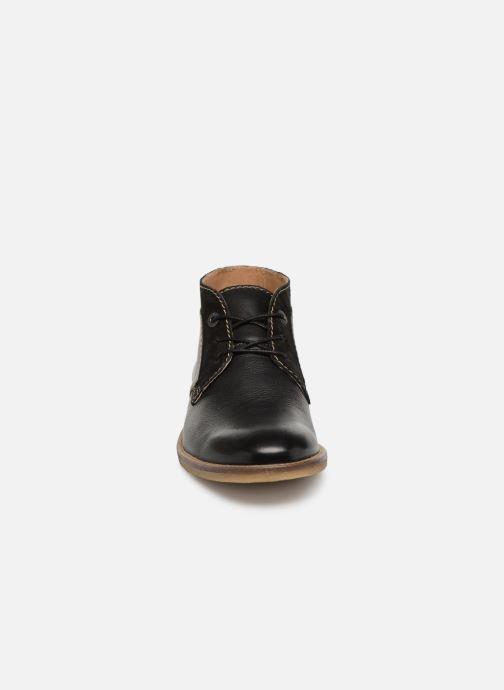 Bottines et boots Kickers BREAK Noir vue portées chaussures