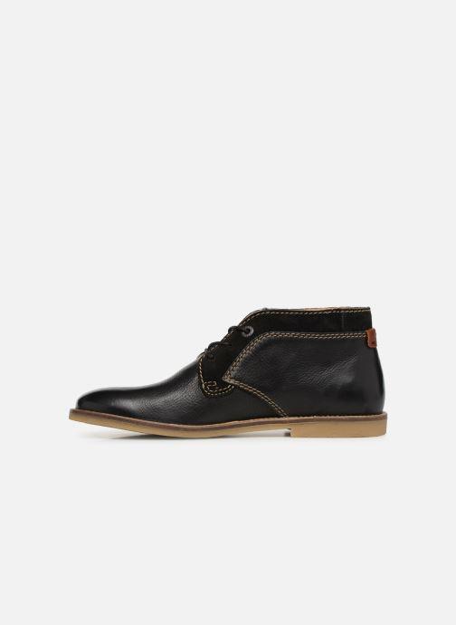 Boots en enkellaarsjes Kickers BREAK Zwart voorkant