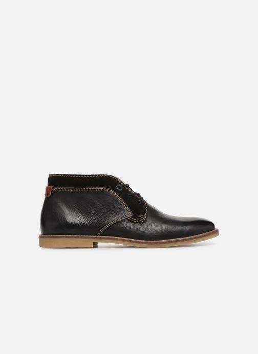 Boots en enkellaarsjes Kickers BREAK Zwart achterkant