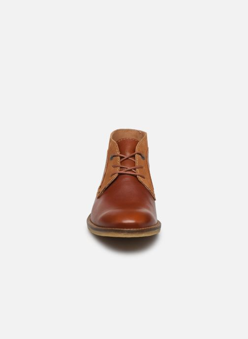 Bottines et boots Kickers BREAK Marron vue portées chaussures