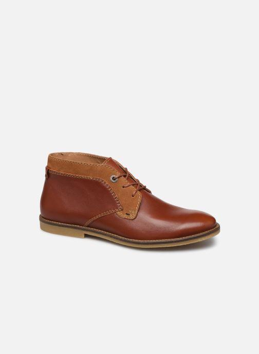 Bottines et boots Kickers BREAK Marron vue détail/paire