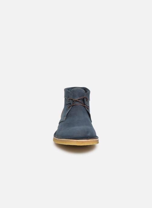 Bottines et boots Kickers CLUBBO Bleu vue portées chaussures