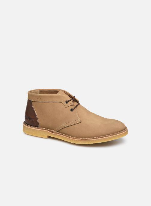 Bottines et boots Kickers CLUBBO Marron vue détail/paire