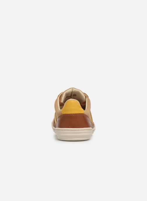 Sneaker Kickers JIMMY braun ansicht von rechts